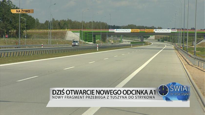 Autostrada A1 już gotowa