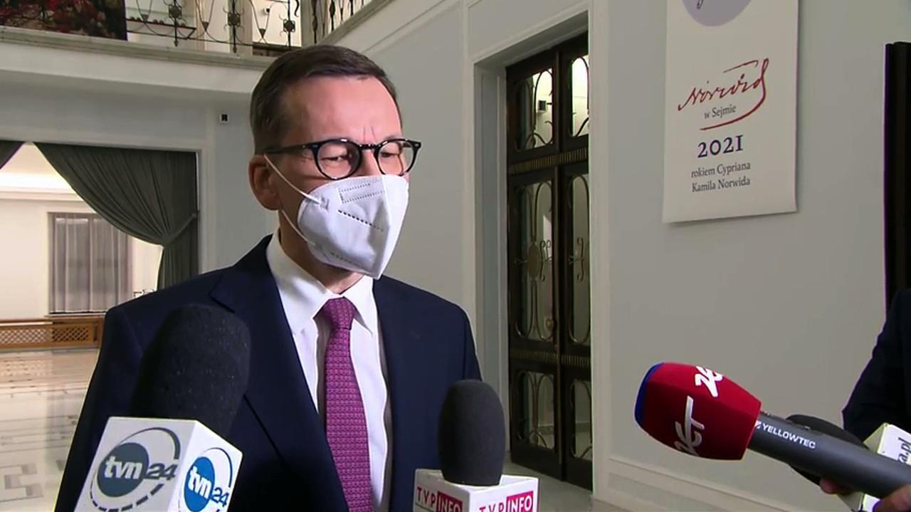 Photo of Sejmowe głosowanie w sprawie Funduszu Odbudowy. Premier komentuje