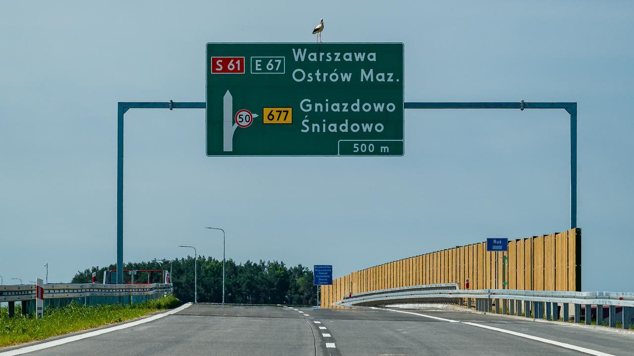 Odcinek Via Baltica oddany do uĹźytku.