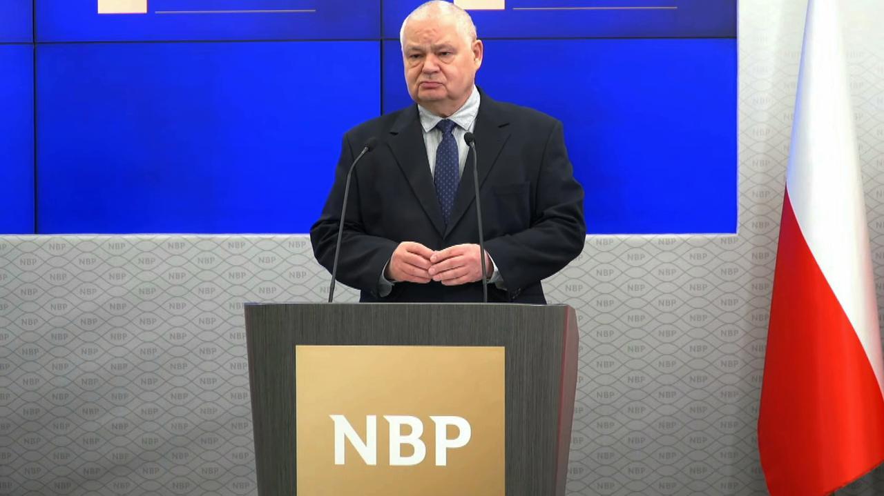"""Stopy procentowe w Polsce. Prezes NBP mówi o """"czarnym scenariuszu"""""""