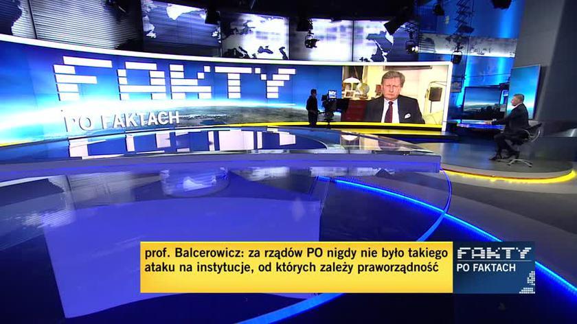 Balcerowicz o opłacie od reklam oraz stanie polskiej gospodarki