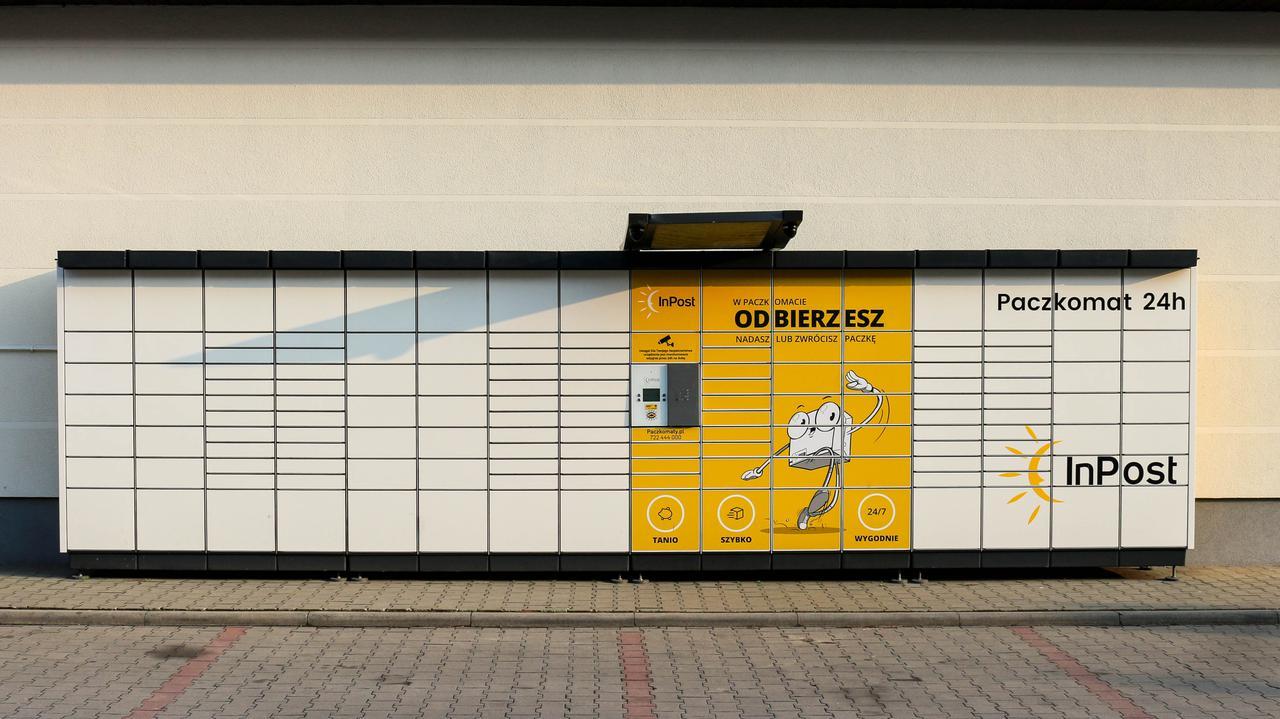 Właściciel paczkomatów zadebiutował na giełdzie w Amsterdamie