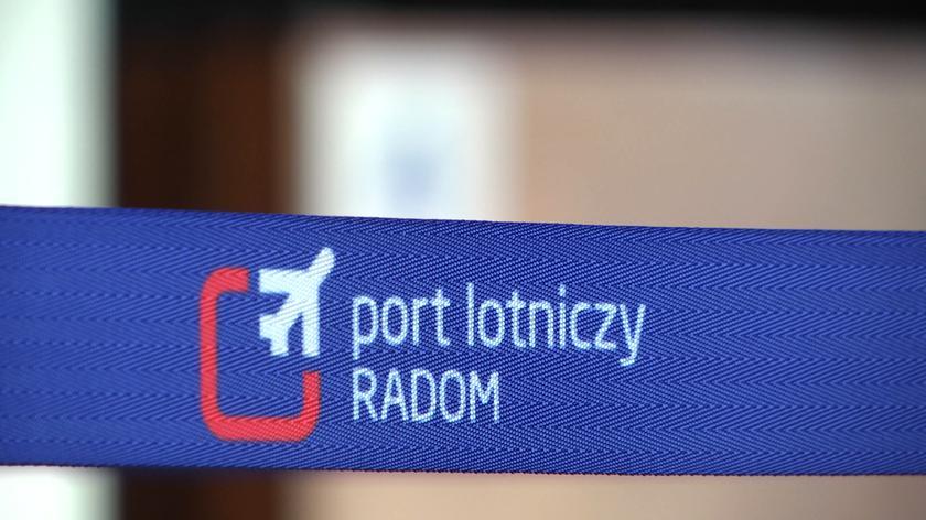 Rudzki o lotnisku w Radomiu