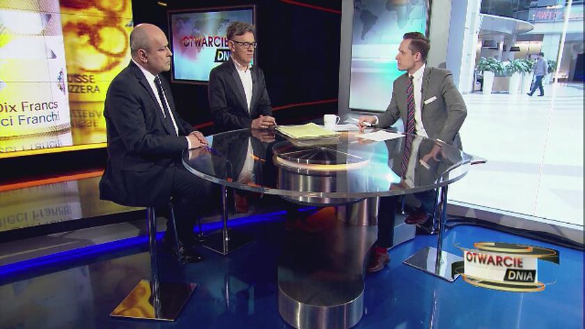 Frankowicze i banki czekają na wyliczenia KNF. Gorąca dyskusja w TVN24 BiS