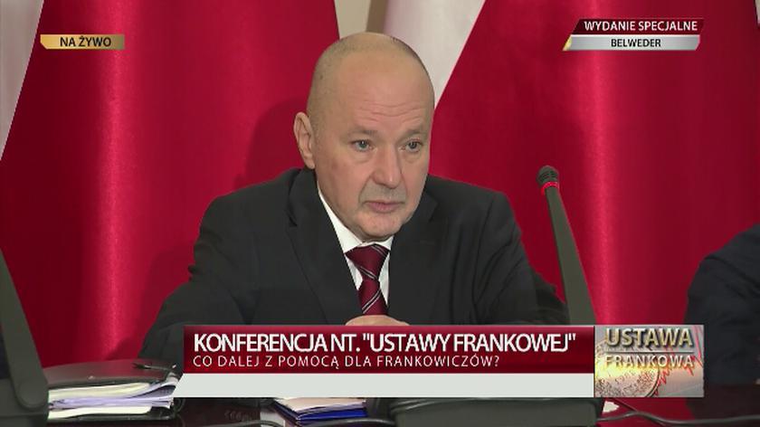 Maciej Łopiński o ustawie frankowej