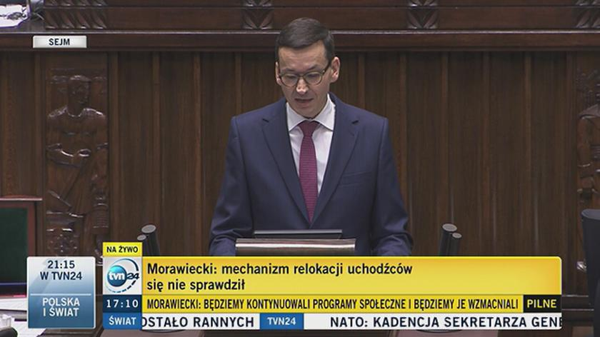 Morawiecki: To my wprowadziliśmy temat walki z rajami podatkowymi