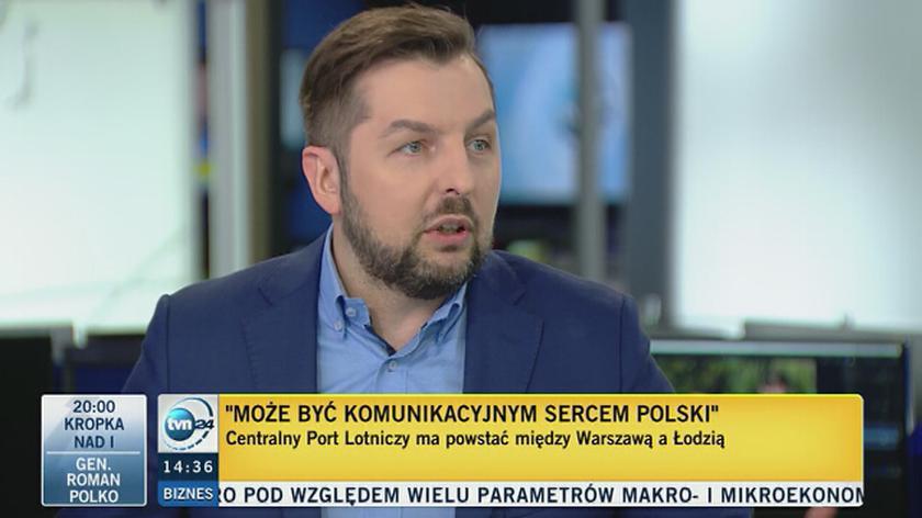 Paweł Blajer o Centralnym Porcie Lotniczym