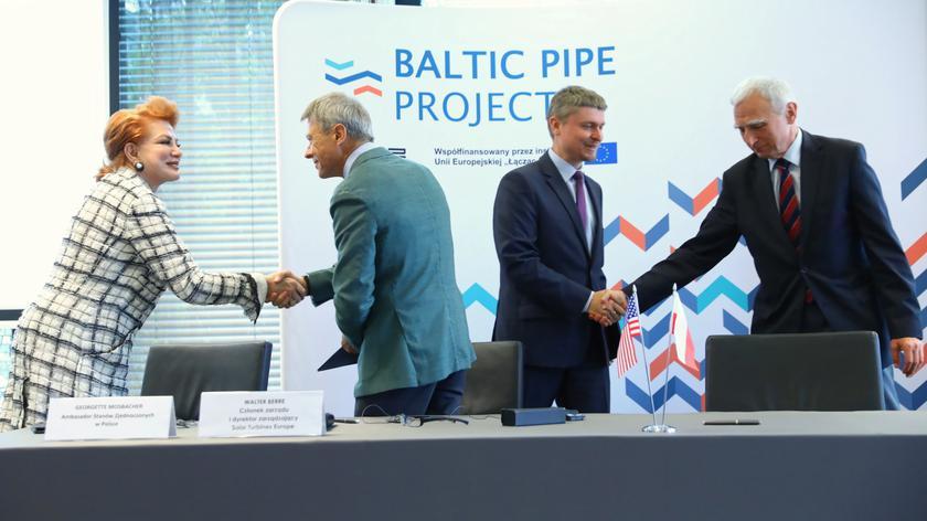 Piotr Naimski o pierwszej umowie inwestorskiej w ramach Baltic Pipe