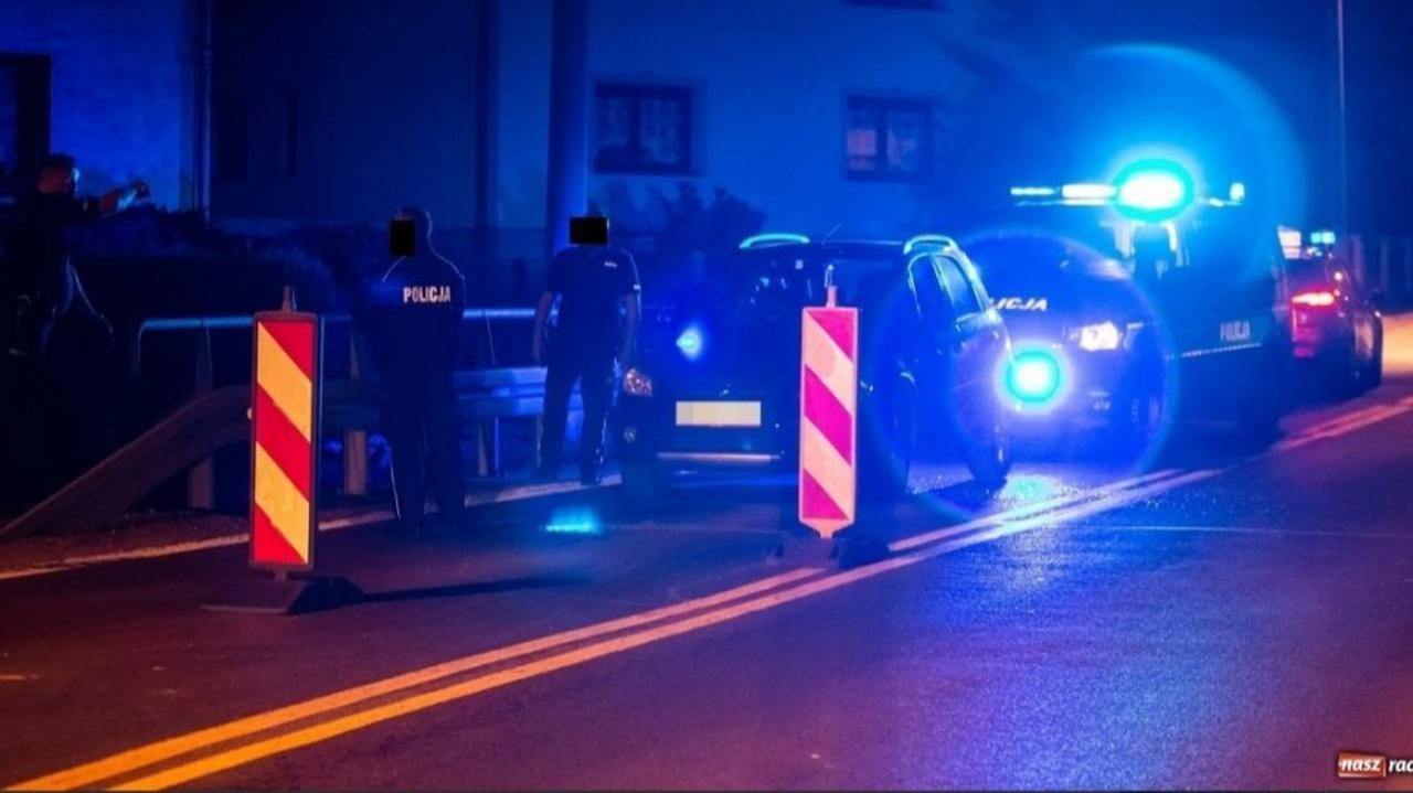 Radiowozy zagrodziły drogę kierowcy, który nie zatrzymał się do kontroli