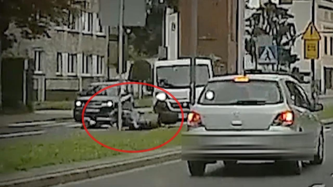 Wymijał auto, które zatrzymało się przed pasami, potrącił trzy dziewczyny