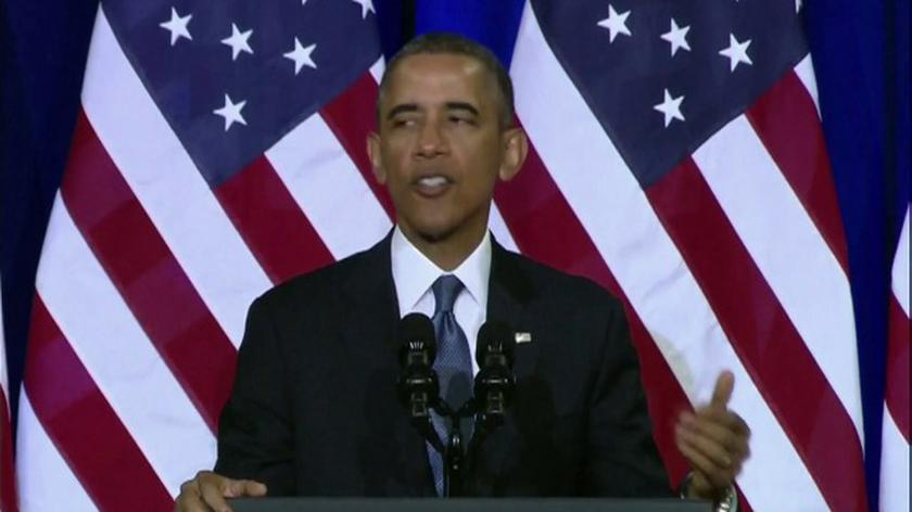 17.01.2014   Obama: Rząd nie powinien przechowywać danych z podsłuchów