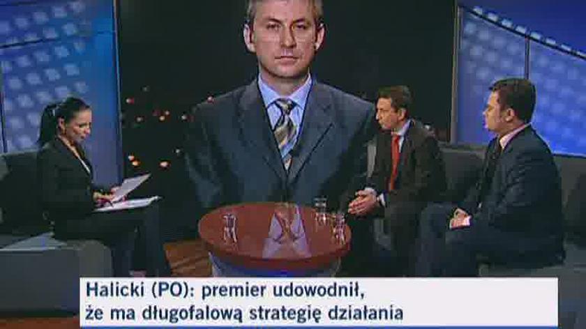 Andrzej Halicki (PO) o osiągnięciach rządu