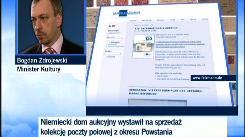 Bogdan Zdrojewski, minister kultury: spróbujemy wykupić zbiory