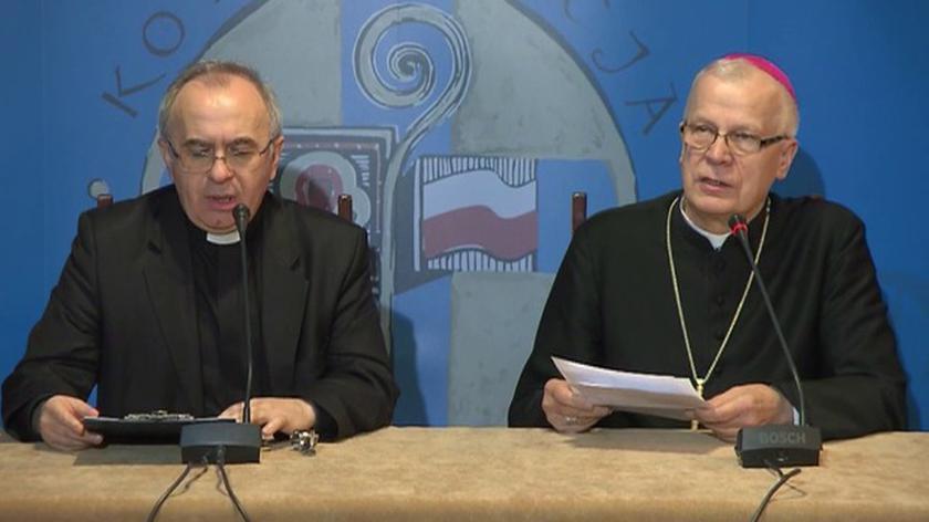 Briefing abp. Michalika i ks. Klocha ws. słów o pedofilii