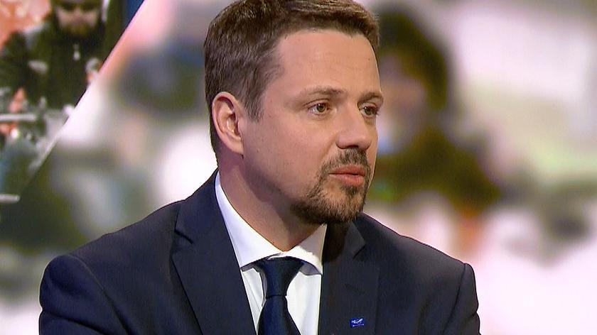 """Cała rozmowa z Rafałem Trzaskowskim w programie """"Świat"""" w TVN24 Biznes i Świat"""