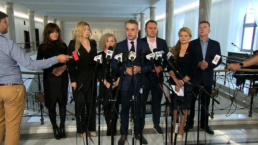 Lewica chce postawienia premiera przed Trybunałem Stanu