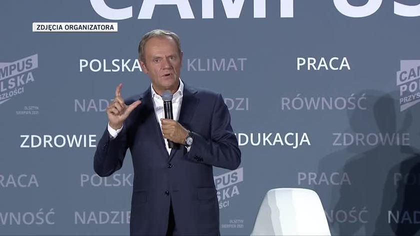 Donald Tusk: obecna władza kompletnie nie ma zrozumienia dla wyzwań nowoczesności
