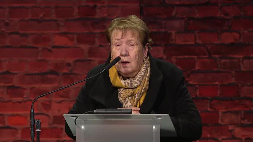 Elza Baker przebywała w Auschwitz pół roku