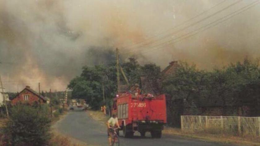 Pożar w Kuźni Raciborskiej