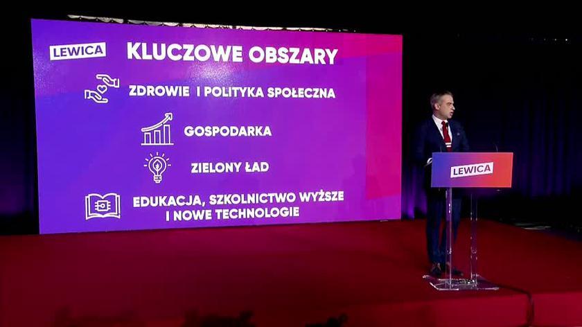 Krzysztof Gawkowski o priorytetach programowych Lewicy