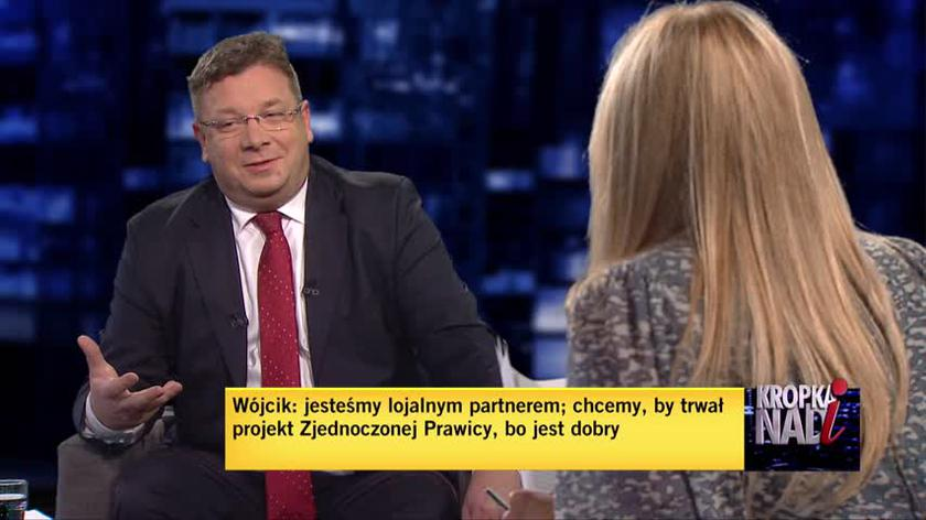 Wójcik: byłoby dziwne, gdyby w Zjednoczonej Prawicy nie było Solidarnej Polski