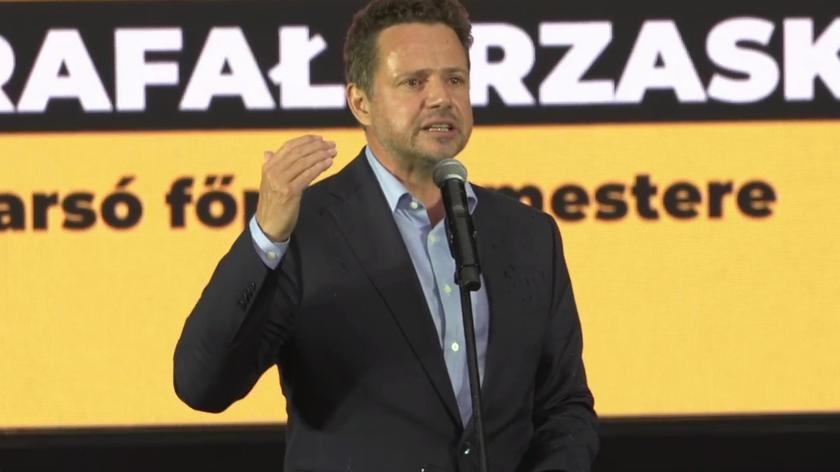 Trzaskowskiw Budapeszcie: Polska to nie Kaczyński, Węgry to nie Orban