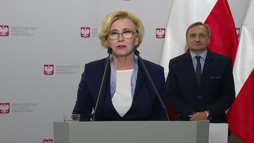 Wiceminister Marzena Machałek o egzaminie ósmoklasisty