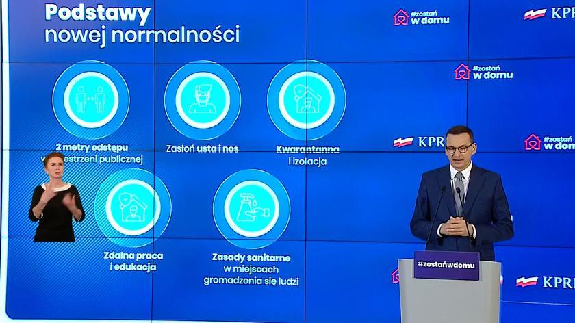 Morawiecki: izolacja, identyfikacja i informatyzacja