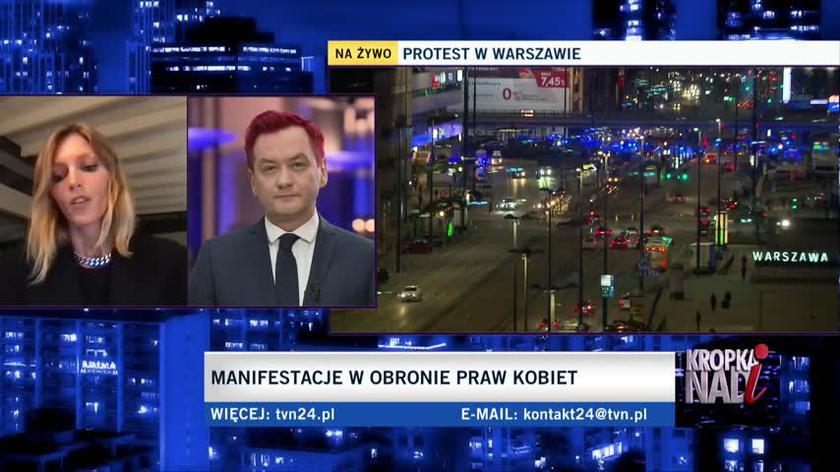 Anja Rubik: rząd zaczyna ingerować w najbardziej prywatne decyzje swoich obywateli