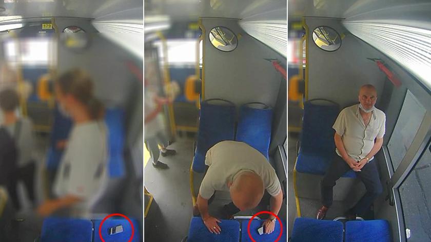 Ukradł telefon w autobusie, jest poszukiwany