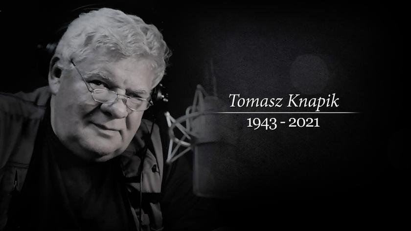 """""""Czytał Tomasz Knapik"""". Odszedł jeden z najpopularniejszych lektorów w Polsce"""