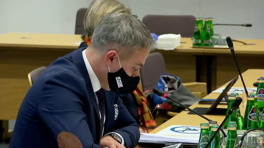 Krzysztof Gawkowski na sejmowej Komisji Spraw Wewnętrznych i Administracji