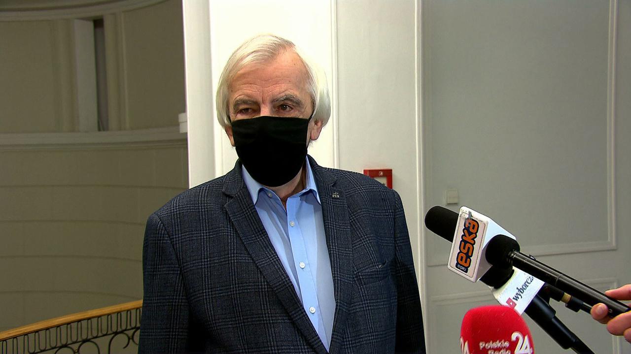 Czy Jarosław Kaczyński zapisał się na szczepienie? Odpowiada Ryszard Terlecki, mówi też o sobie