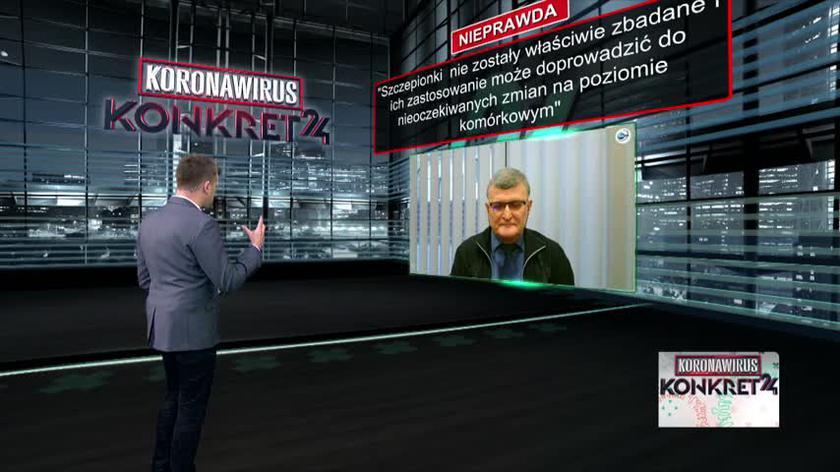 Dr Grzesiowski: Nie możemy tego typu ingerencją zmienić ludzkiego genomu. Nie możemy zmienić ludzkiego DNA, które jest zawarte w jądrze i jest dobrze chronione