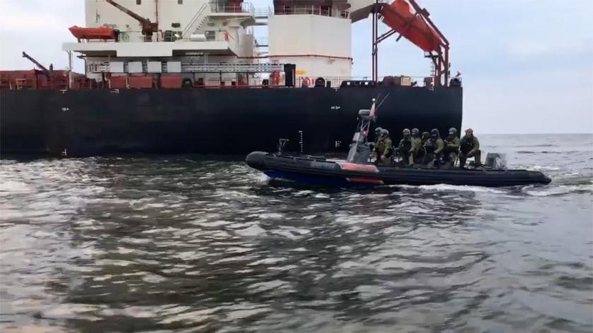Straż Graniczna interweniowała na statku Greenpeace