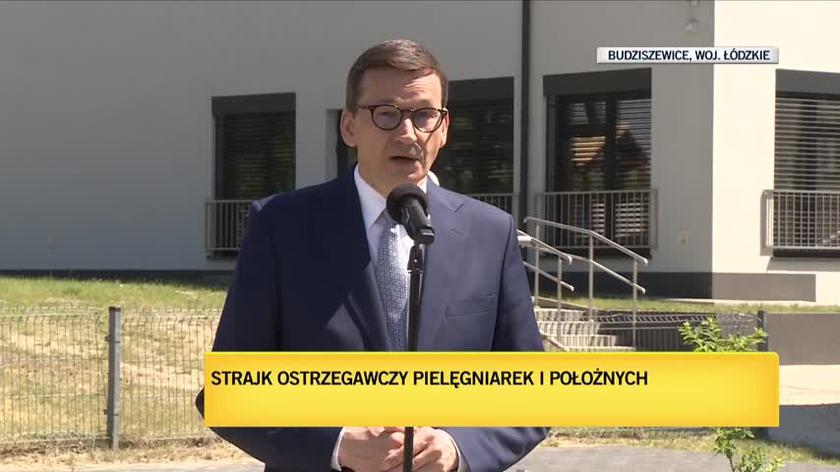 Premier: nakłady na zdrowie są jednym z filarów Polskiego Ładu