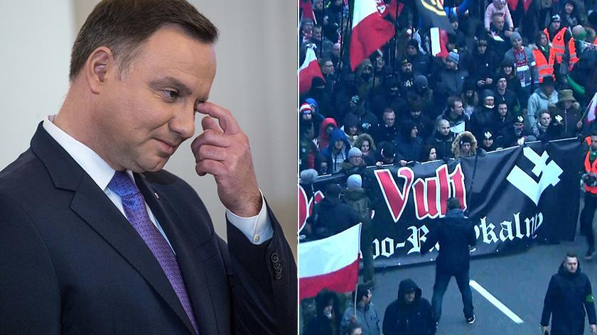 Prezydent nie pojawi się na marszu organizowanym przez narodowców - poinformował jego rzecznik
