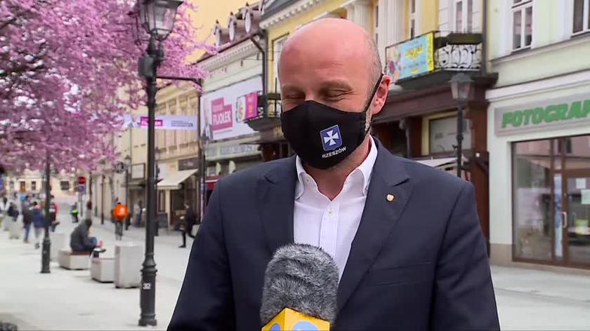Konrad Fijołek o wynikach sondażu na prezydenta Rzeszowa