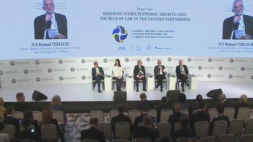 Całe wystąpienie Ryszarda Terleckiego na międzyparlamentarnej konferencji w Mołdawii