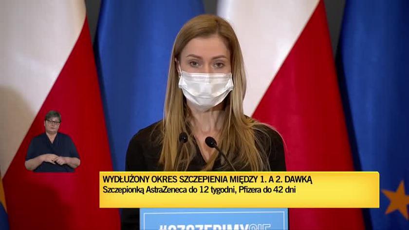 Wiceminister zdrowia Anna Goławska o zapisach na szczepienia dla przewlekle chorych