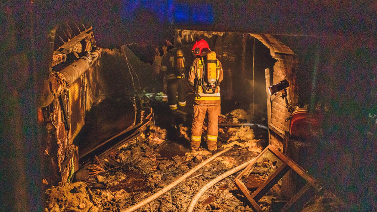 W pożarze strzelnicy zginął mężczyzna, właścicielowi grozi 15 lat więzienia