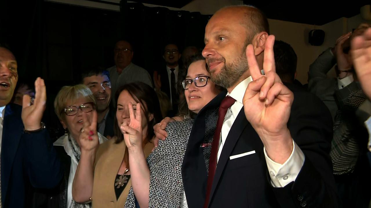 Wybory w Rzeszowie. Exit poll: Konrad Fijołek zdobył ponad 55 procent głosów