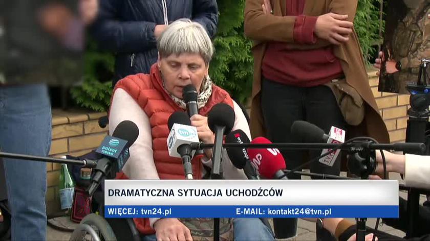 Ochojska: my jesteśmy odpowiedzialni za to, co się dzieje na granicy polsko-białoruskiej