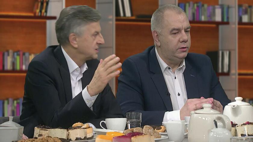 """Politycy o sprawie sedziego Tulei w """"Kawie na ławę"""""""