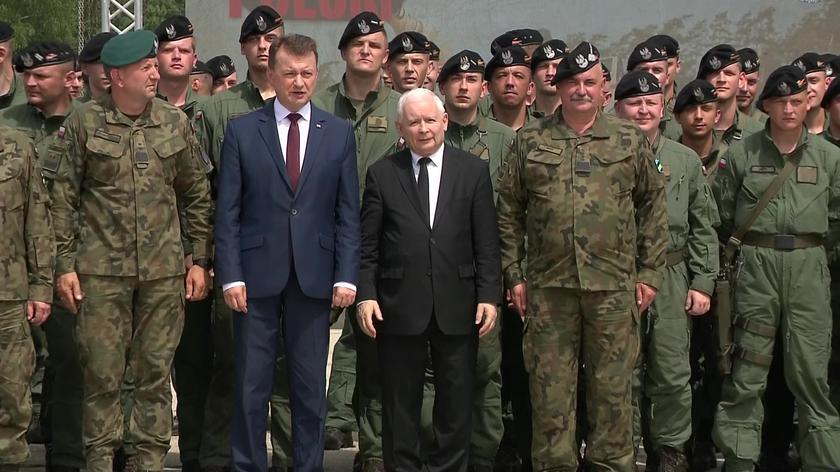 Jarosław Kaczyński o zakupie amerykańskich czołgów dla Wojska Polskiego (wideo z dn. 14.07.2021)