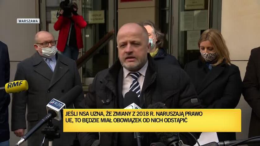 Sędzia Gąciarek: próbujemy zatrzymać desant polityczny, najazd Hunów na Sąd Najwyższy i KRS