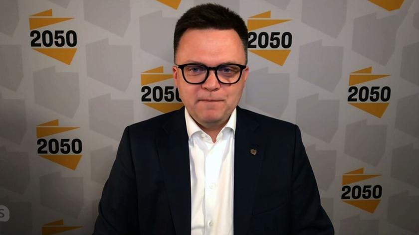 Hołownia: ten Janosik jest kleptomanem i żyje z tego, że stosuje zasadę dziel i rząd