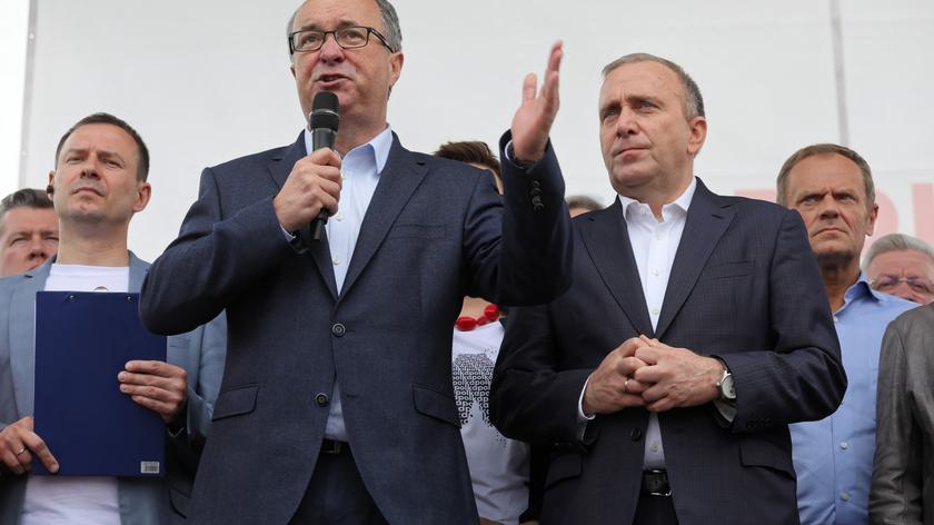 Czarzasty: nasze partie i elektoraty różnie myślą o Polsce, ale jesteśmy tu wspólnie