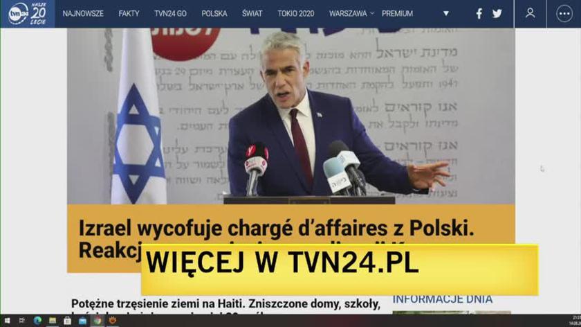 Profesor Paweł Śpiewak o nowelizacji Kpa i sporze dyplomatycznym z Izraelem