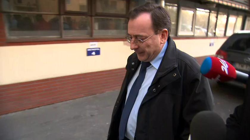 Mariusz Kamiński przed spotkaniem władz PiS